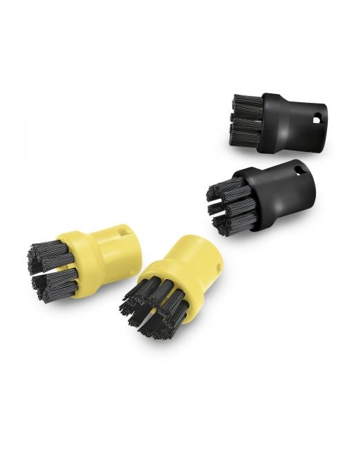 סט 4 מברשות צהובות/שחורות לקיטורמט KARCHER