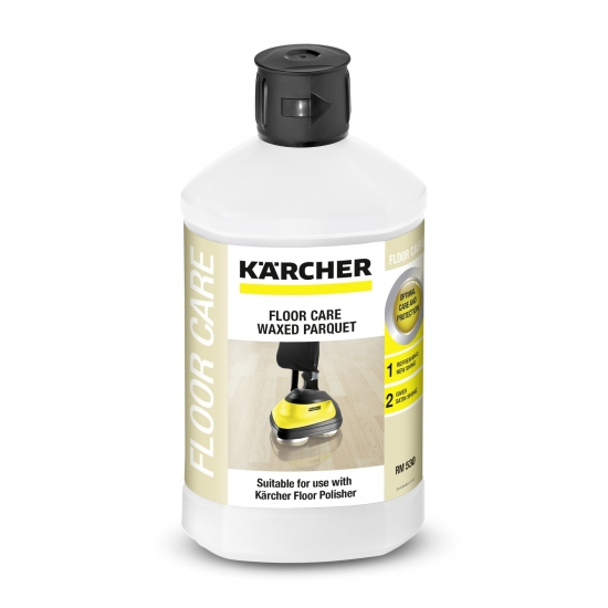 Floor care for waxed parquet / parquet with oil or wax finish RM 530, 1 L