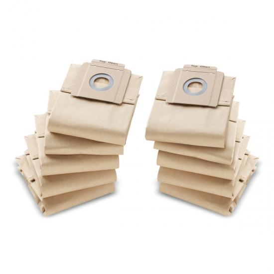 Бумажные фильтр-мешки Karcher,10 шт.