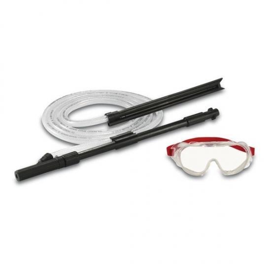 אביזר ניקוי באמצעות חול + משקפי מגן