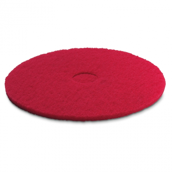Pad, medium-soft, red, 432 mm