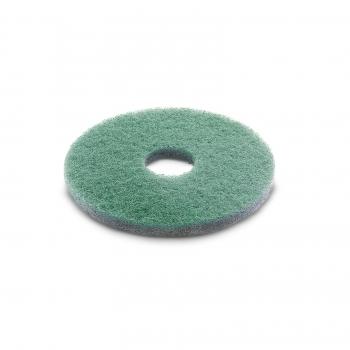 Diamond pad, fine, green, 432 mm
