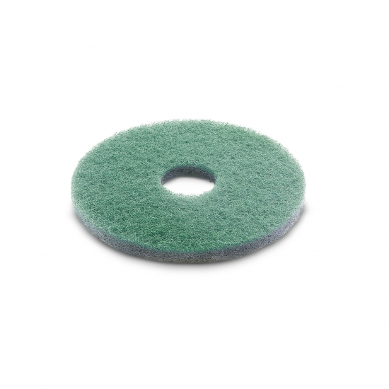 Diamond pad, fine, green, 432 mm