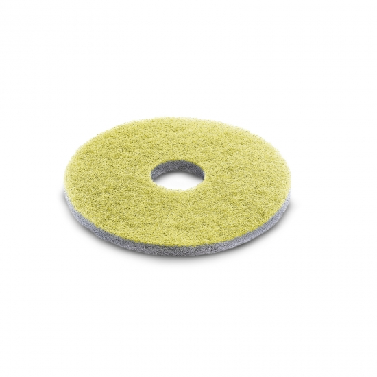 Diamond pad, medium, yellow, 432 mm
