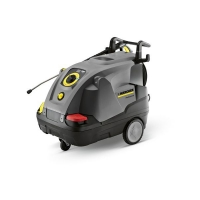 Hot water high-pressure cleaners
