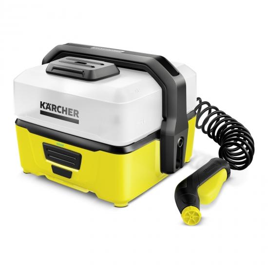 מכונת שטיפה ניידת נטענת בלחץ Karcher OC3